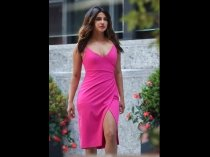 Hotness Alert! Priyanka Chopra Looks Smokin' Hot In This Figure-Hugging Pink Dress