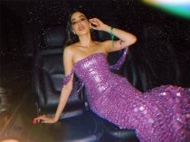 Janhvi Kapoor's Latest Gown Is A Sparkling Handcrafted Masterpiece