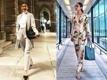 Manisha Koirala's Winter Look Or Manushi Chillar's Spring Avatar: Whose Pantsuit Was Better?