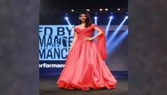 Jacqueline Fernandez's Red Gown