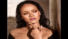 Rihanna's Bold Cover Look