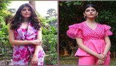 Sanjana Sanghi's Pink Outfits