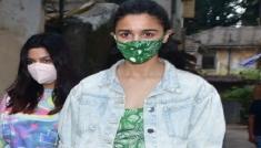 Alia Bhatt's Green Floral Dress