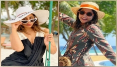 Hina Khan's Looks From Maldives Vacation