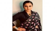 Vidya Balan's Floral Saree