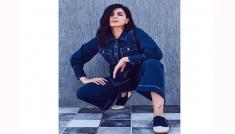 Kirti Kulhari's Denim Outfit