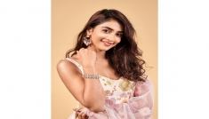 Pooja Hegde's Traditional Outfit
