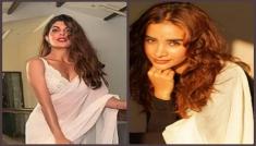 Divas In White Sarees