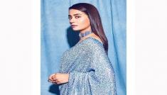 Surveen Chawla's Sequin Saree