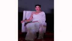 Gauahar Khan's Saree Look