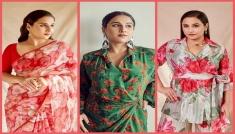 Vidya Balan In Floral Printed Outfits