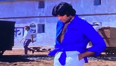 Amitabh Bachchan's Knotted Shirt