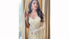 Kiara Advani's Saree Look