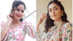 Katrina Kaif And Mrunal Thakur Dresses
