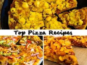 Top Veg Pizza Recipes | Easy Pizza Recipes