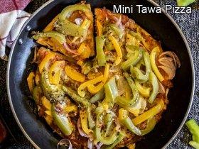 Easy Homemade Tawa Pizza Recipe