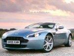 Lara Bingle Aston Martin Sports Car