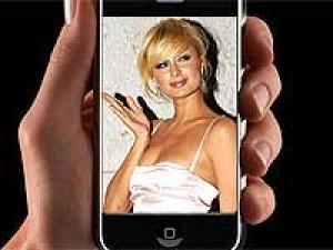 Paris Hilton Iphone App Launch 190211 Aid