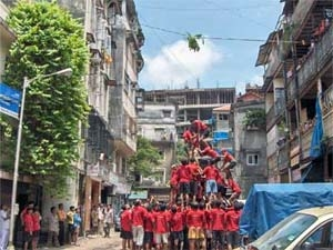 Dahi Handi Festival Decoration