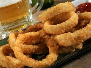 Onion Rings American Appetizers