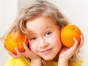 Healthy Fruits Children