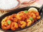 Dry Masala Shrimps Recipe