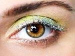 Apply Glitter Eyeshadow Step By Step