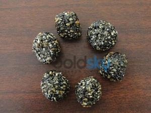 Black Til Ladoo Sankranti Recipe