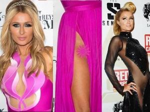 Paris Hilton Suffers Wardrobe Malfuntion Before Birthday