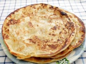 Baked Methi Paratha For Breakfast