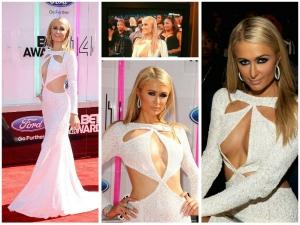 Paris Hilton Faces A Nip Slip At 2014 Bet Awards