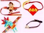 Cartoon Rakhis For Little Brothers On Raksha Bandhan