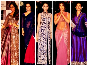 Lfw 2014 Celebrities At Manish Malhotra Show