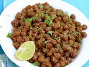 Chana Sundal Quick Recipe For Snacks