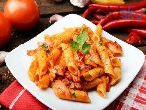Indian Style Tomato Pasta Recipe