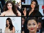 Aishwarya Rai In Shades Of Red Lipstick Loreal