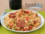 Yummy Cocktail Sausage Fried Rice Recipe