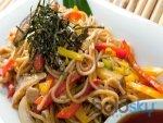 Red Pepper Chicken Noodle Recipe