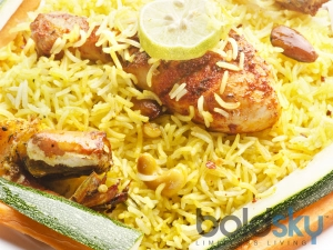 Roasted Chicken Lemon Rice Recipe