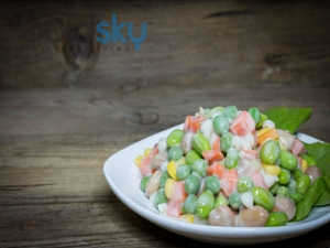 Corn And Bean Salad Recipe For Ramadan