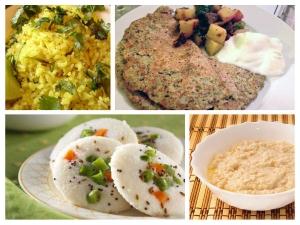 Ten Healthy Indian Breakfast Options