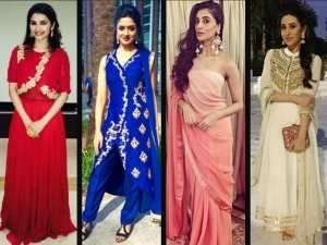 Eid 2015 Fashionable Ethnic Looks Anarkalis Sarees More