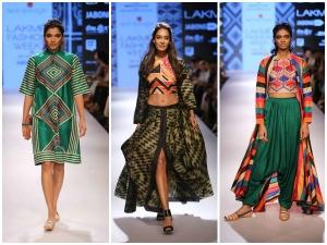 Lakme Fashion Week Winter Festive 2015 Swati Vijaivargie Lisa Haydon