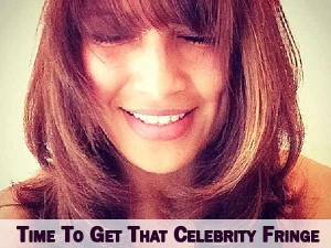 Care For Your Fringe The Celebrity Way