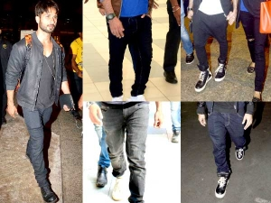 Shahid Kapoor Fancies For Baggy Pants