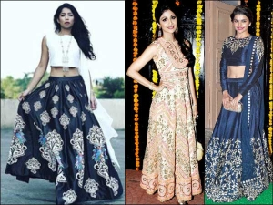 Trending Three Types Of Lehenga For This Diwali