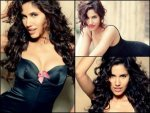 Hot Sizzling Sonalli Seygal In Black Lingerie On The Cover Of Fhm Magazine India