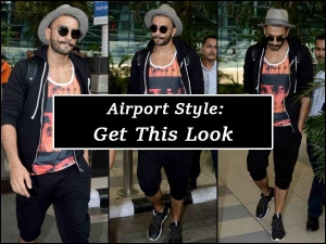 Ranveer Singh Travel Look In Eight Thousand