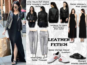Two Must Have Leather Jacket Outfits