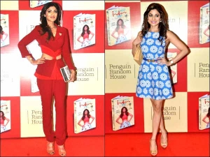 Shilpa And Shamita Shetty At The Launch Of The Great Indian Diet Book